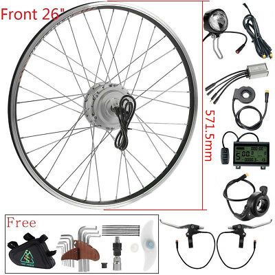 "36v250W 26"" front wheel Electric Bicycle Hub Motor Conversion kit"