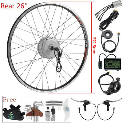 36v350W electrical bicycle e-bike Hub Motor Conversion kit rear wheel 26""