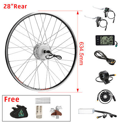 36v350W e-bike electric bicycle Hub Motor Conversion kit rear wheel 28""