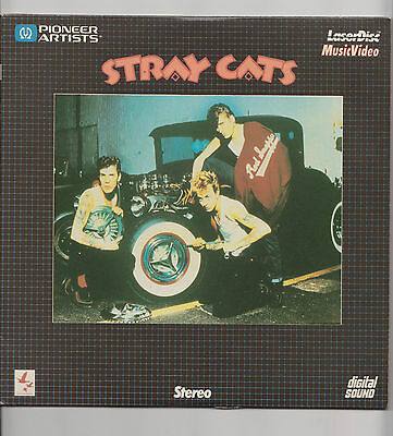 Stray Cats Laserdisc Music Video Stereo