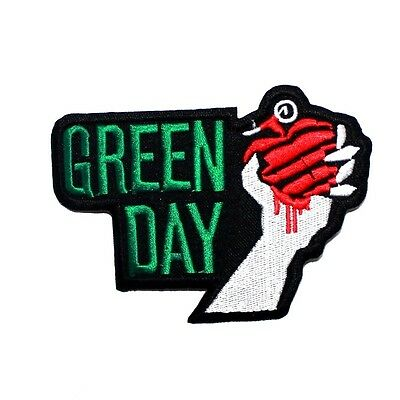Green Day Heavy metal Music Rock Band Punk Cancert Jeans jacket Shirt Iron Patch