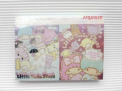 Sanrio Little Twin Stars 105x75mm Memo Note Pad for leaving message, 200 sheets