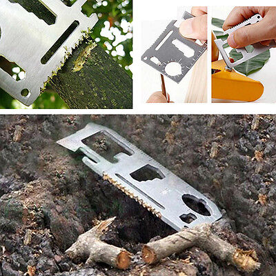 Pocket Tools Card Knife 11 in1 Survival Camping Military Multi-Tools Classic New