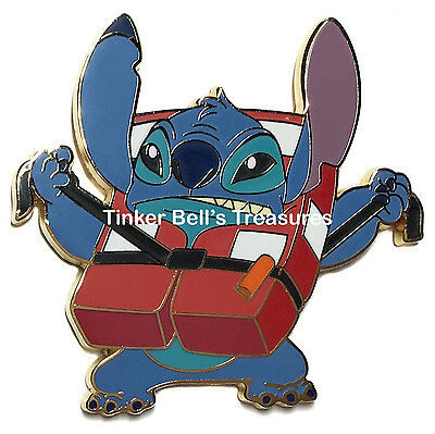 DISNEY Pin - DCL - Stitch Life Jacket - Disney Cruise Line Life Jackets Booster