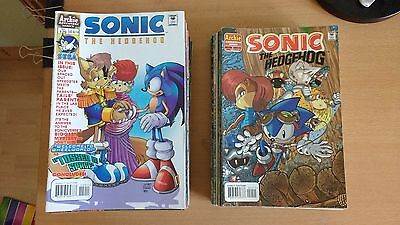 Archie Comics, Sonic the Hedgehog. Issues #54-77 and #129-181.