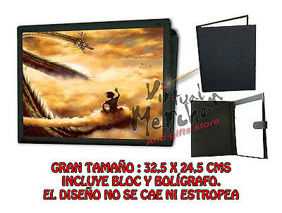 CARPETA NUBE KINTON DRAGON BALL SHENRON LONETA NEGRA FOLDER bloc es