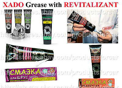 Xado Repairing Restoring Protective Alassca Super Grease with Revitalizant Lube