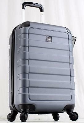 "Tag Matrix 20"" Hardside Spinner Carry On Suitcase 19105 Gray Lightweight Luggage"