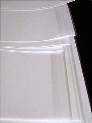 """5 - 14"""" x 28"""" Brodart Fold-On ARCHIVAL Book Jacket Covers - super clear mylar"""