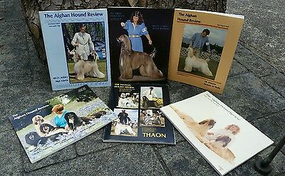 Afghan Hound Review Magazine, 1983, Complete Year, 6 Issues