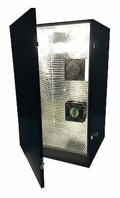 Novice Stealth CFL Grow Cabinet Indoor Growing Box kit 4 Site Hydroponics System