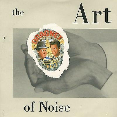 "THE ART OF NOISE ""dragnet "" 7"" UK china records EX"