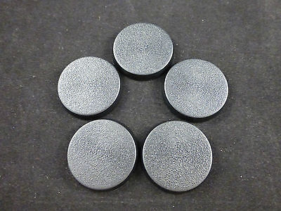 Games Workshop Warhammer 40K 32mm Round Closed Model Bases (5)