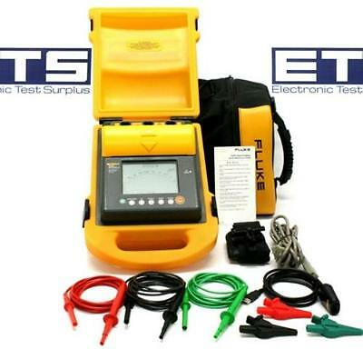 Fluke 1550B MegOhmMeter Digital High Voltage Insulation Tester