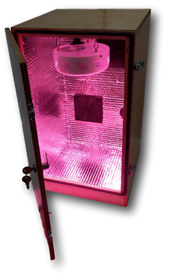 Novice Stealth LED Grow Cabinet Full Indoor Growing Box kit Hydroponic or soil