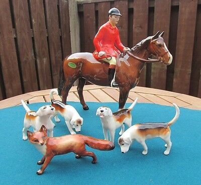 Beswick Huntsman Fox & Foxhounds Hunting Group