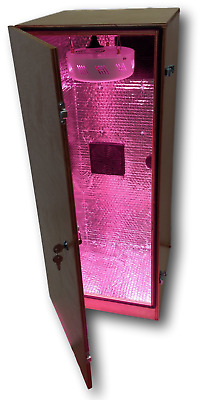Premium Stealth LED Grow Cabinet Indoor Growing Box kit 4 Site Hydroponic System