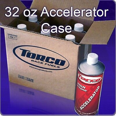 TORCO UL ACCELERATOR - CASE OF (6) 32oz CANS