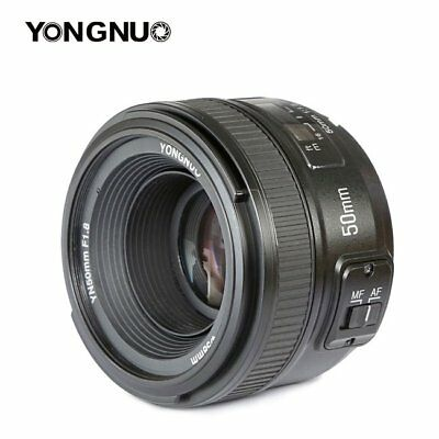 Yongnuo 50mm YN50mm F1.8 Standard Prime Lens Auto Manual Focus AF MF for Nikon