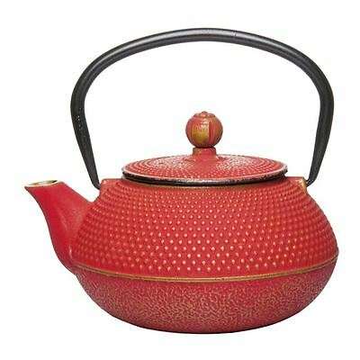 Benzer - Orient Express Zen Cast Iron Tea Pot Golden Rose 800ml