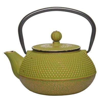 Benzer - Orient Express Zen Cast Iron Tea Pot Golden Green 800ml