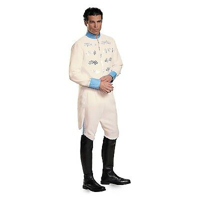 Disguise Men's Prince Movie Adult Deluxe Costume White X-Large