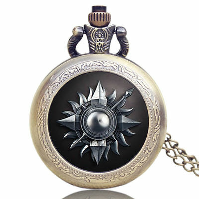Game of Thrones Martens of Sunspear Quartz Watch Necklace