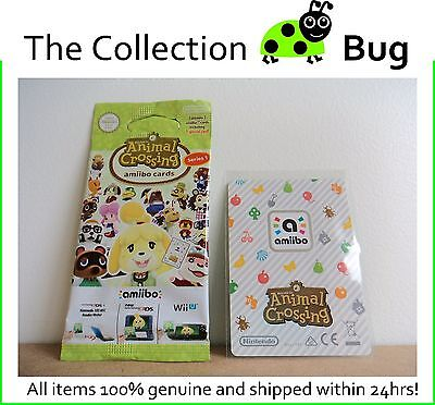 Animal Crossing amiibo - Pick From List - Cards 001 to 050 Series 1 - Free Post!