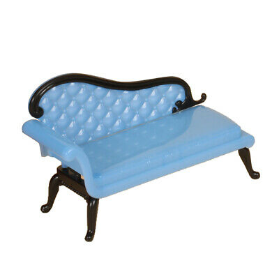 Chaise Lounge Sofa Fainting Couch for doll house Miniature Furniture