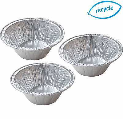 "Round Foil Dishes - 3"" Mini pie tins - Mince Pies - Baking - Buffet - Dessert"