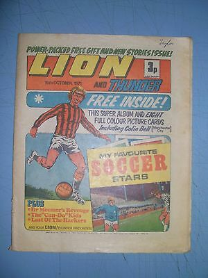 Lion issue dated October 16 1971
