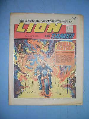 Lion issue dated June 24 1972