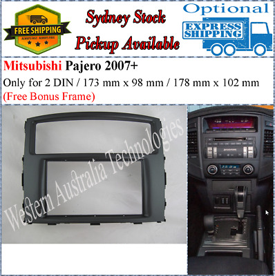 Fascia facia Mitsubishi Pajero Double 2 DIN For Stereo DVD GPS Radio