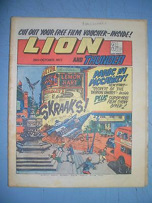 Lion issue dated October 28 1972