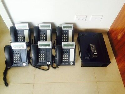 Panasonic TDA30 Hybrid-IP PBX PLUS 6X Panasonic KX-DT333AL Phones