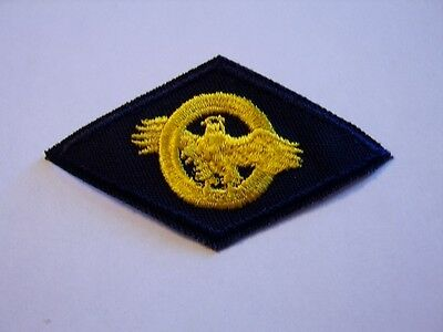 Usn Cloth Honorable Discharge Ruptured Duck Patch -:k5