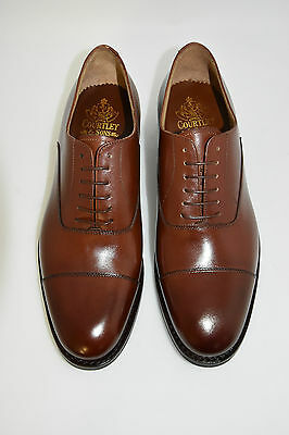 MAN-8eu-9usa-OXFORD CAPTOE-COGNAC CALF-VITELLO MARRONE-DAINITE+LEATHER SOLE