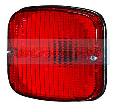Sim 3132 Car Van Trailer Horsebox 12V/24V Rear Flush Fitting Red Fog Light/lamp