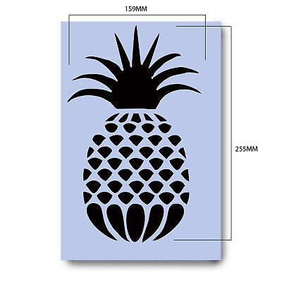 Pineapple Stencil 297x189mm Sign Hawaii Tiki Spray Re-Usable Airbrush Craft 044