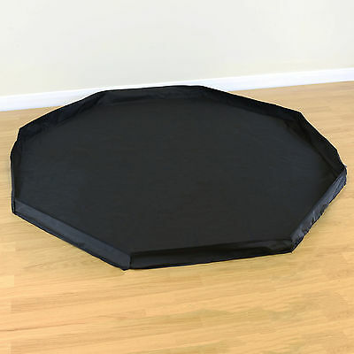 8 Sided Pet Play Pen Black Floor Mat Indoor/Outdoor Garden Run Dog/Puppy/Rabbit