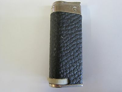 Vintage early 50s Champ Ariel faux leather wrapped cartridge lighter Austria
