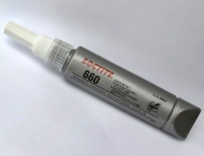 Loctite 660 Quick Metal Retaining Compound, Press Fit Repair - 50ml - Free Ship