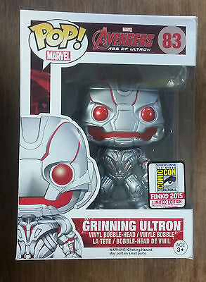 Funko POP! Marvel Avengers Age of Ultron Grinning Ultron 83 2015 SDCC Exclusive