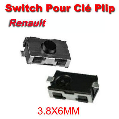 switch bouton de cl pour telecommande renault clio 2 master kangoo plip radio eur 4 54. Black Bedroom Furniture Sets. Home Design Ideas