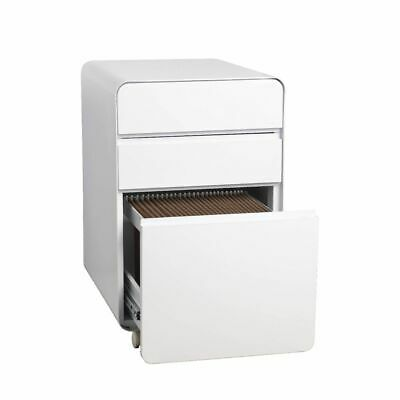 Venturo 3 Drawer Filing Pedestal White