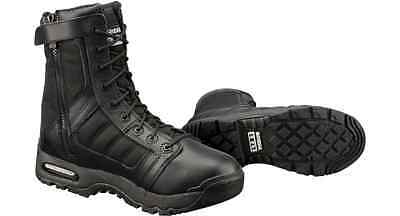 """ORIGINAL SWAT AIR 9"""" SIDE ZIP Tactical Boots, Men's US Size 8.5 MILITARY POLICE"""