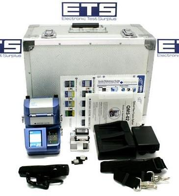 Sumitomo Type-25 QMS-02 Fusion Splicer With Fiber Cleaver Splice Count 90