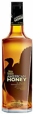 Wild Turkey American Honey Bourbon Whisky 700 Ml