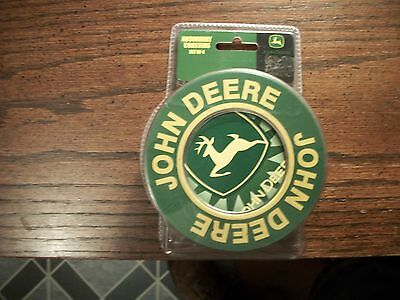 John Deere Ceramic - Stone Coasters, Absorbent, Set Of 4 - New In Metal Tin