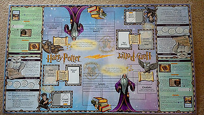Harry Potter Trading Card Game - Laminated Game Sheet